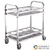 Stainless Steel Kettle Cart
