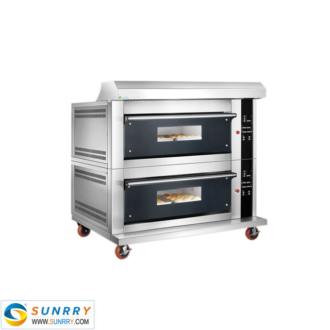 Luxurious Separable Glass Door Electric Deck Oven With Spray Function